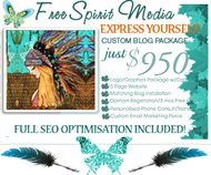 Free Spirit Media Custom Blog Design Sale